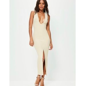Missguided long ankle dress